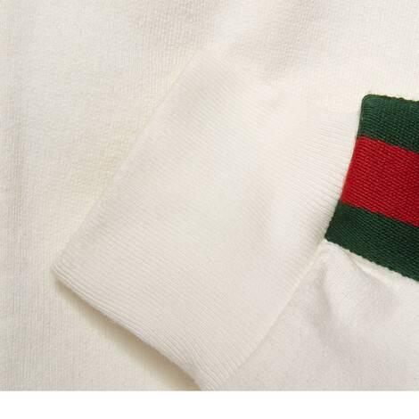 饰织带针织拉链卫衣