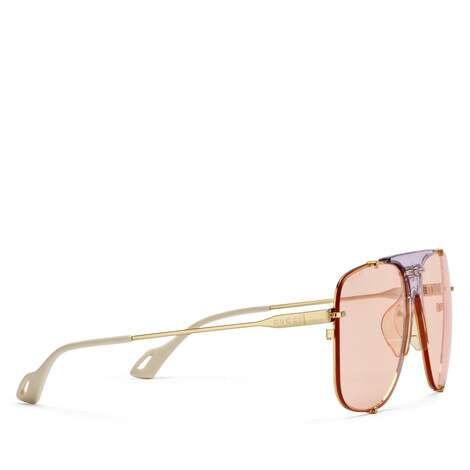 贴合设计飞行员金属太阳眼镜