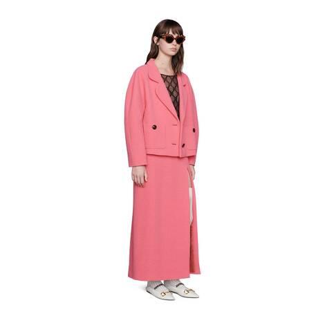 羊毛花呢夹克