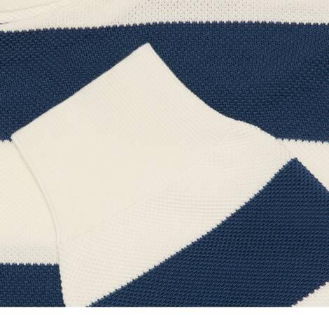 饰GG条纹棉质针织毛衣