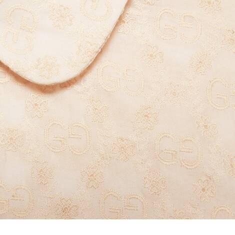 GG刺绣棉质衬衫