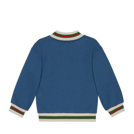 儿童织带棉布夹克