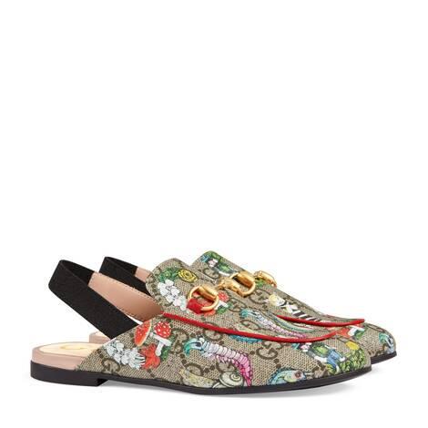 Princetown系列儿童樋口裕子印花拖鞋