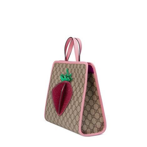 儿童GG草莓托特包