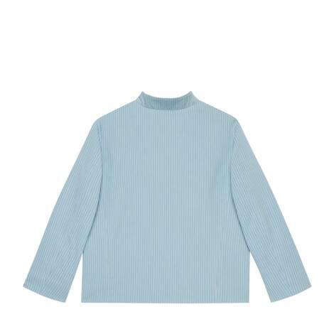 儿童条纹棉夹克