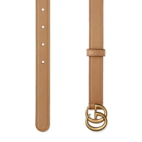 双G带扣细版腰带