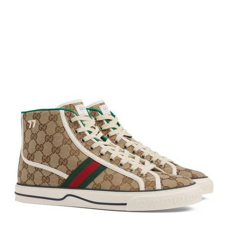 Gucci Tennis 1977系列男士高帮运动鞋