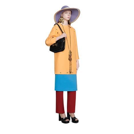 Gucci 馬銜扣1955系列肩背包