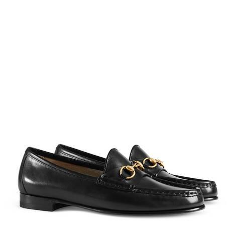 1953皮革马衔扣乐福鞋