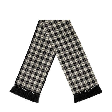 G格纹羊毛围巾