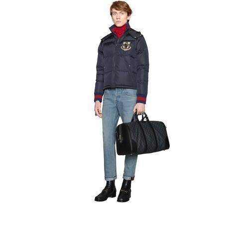 柔软高级人造帆布旅行袋