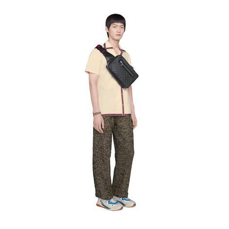 GG Supreme帆布腰包