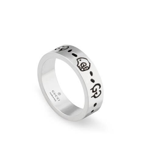 GucciGhost纯银戒指