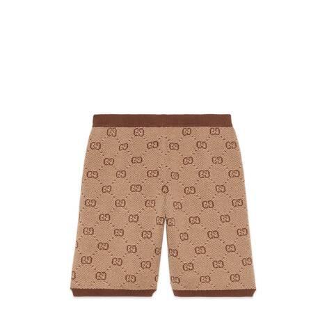 儿童 GG 羊毛短裤