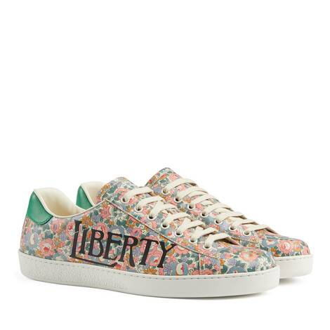 Ace系列男士Liberty London印花运动鞋