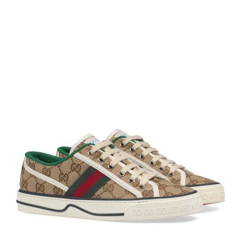 Gucci Tennis 1977系列女士GG运动鞋