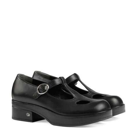 女士玛丽珍低跟鞋