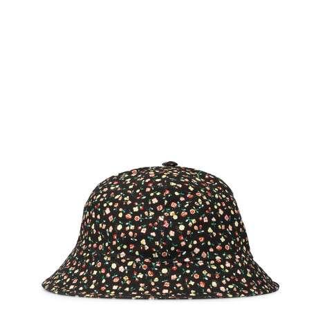 Gucci Liberty花卉印花帆布渔夫帽