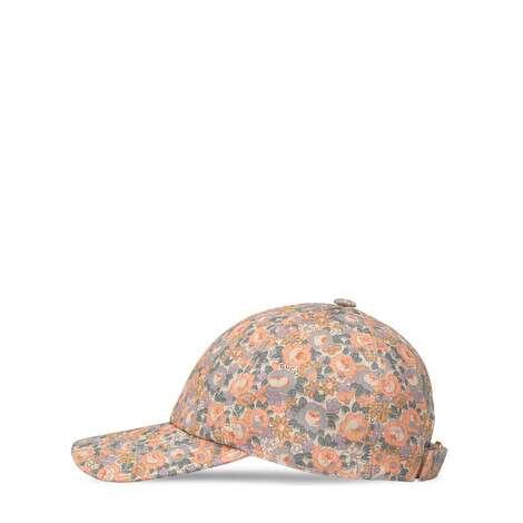 Gucci Liberty花卉印花帆布棒球帽
