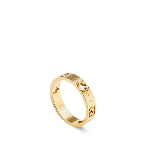 Icon系列18K黄金星星戒指