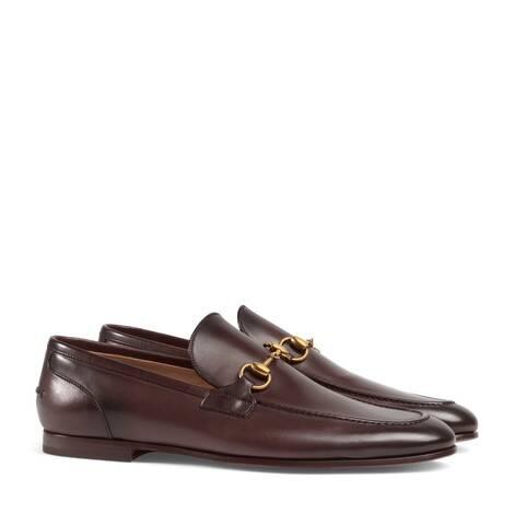 Gucci Jordaan系列皮革乐福鞋