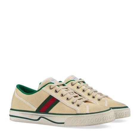 Gucci Tennis 1977系列女士运动鞋