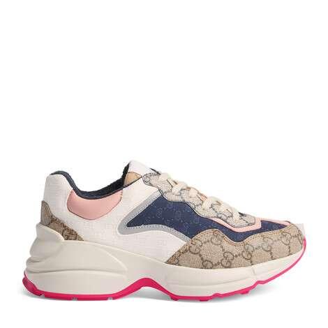 Rhyton系列女士GG运动鞋