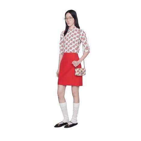七夕情人节特别款GG Marmont系列超迷你手袋