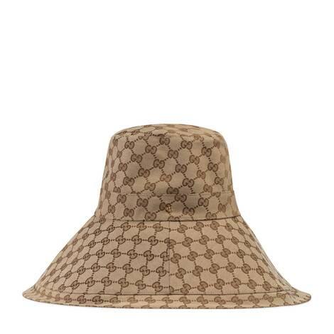 GG帆布寬邊帽