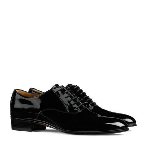 男士双G系带鞋