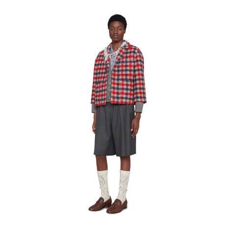 牛津棉短袖衬衫