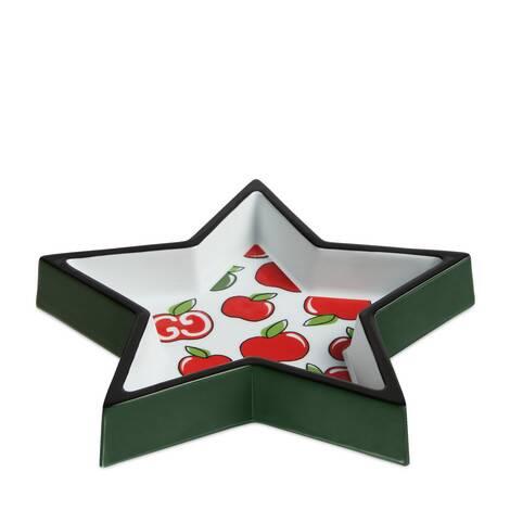 七夕情人节特别款GG苹果印花星星造型首饰托盘