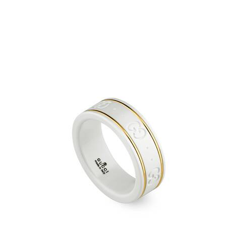 Icon系列18K黄金戒指