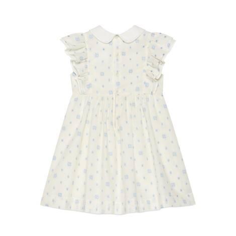 儿童GG波点棉质连衣裙