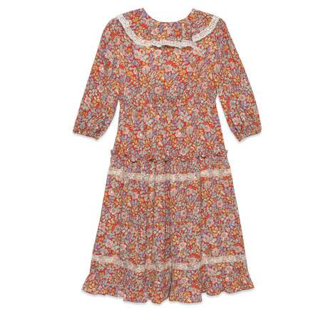 兒童Gucci Liberty花卉連衣裙