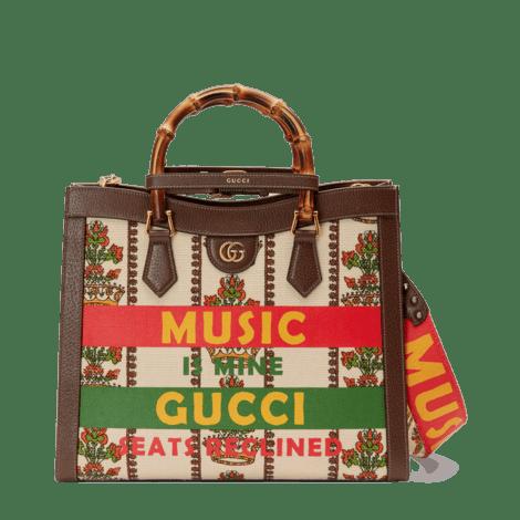 Gucci 100特别系列Diana中号手袋
