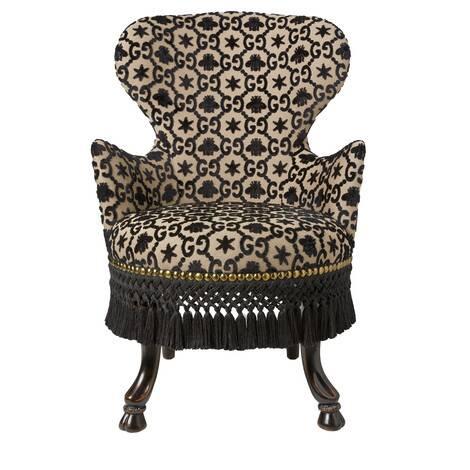 GG提花扶手椅