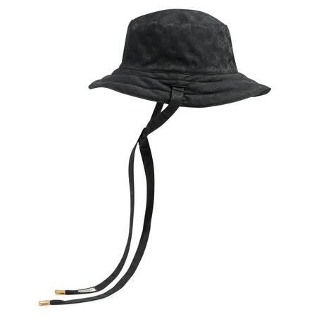 GG帆布和尼龙双面帽子