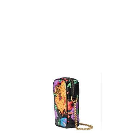 官网专享艺术家Ken Scott印花系列GG Marmont系列迷你手袋