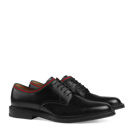 皮革系带鞋
