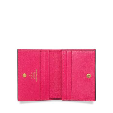 艺术家Ken Scott印花系列Gucci 马衔扣1955系列卡包