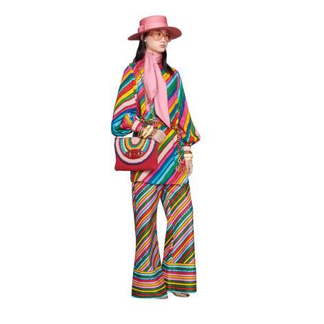 艺术家Ken Scott印花系列亚麻连衣裙