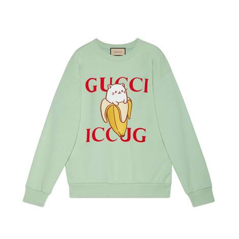 Bananya x Gucci联名系列棉质卫衣