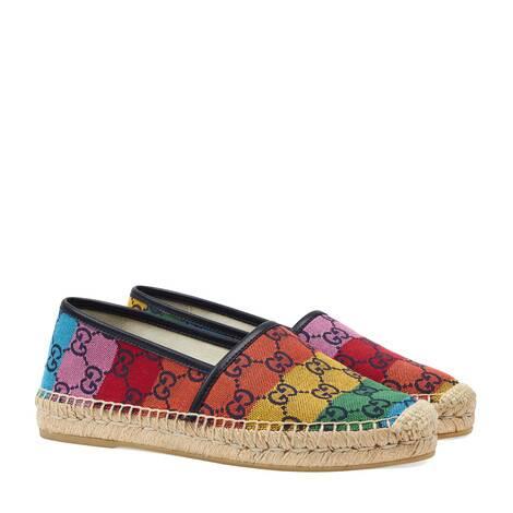 GG Multicolor系列草编鞋