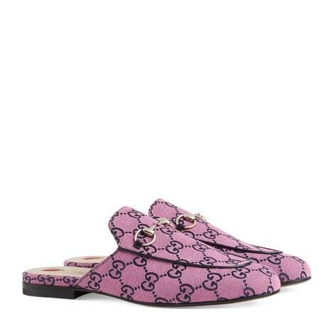 GG Multicolor系列Princetown拖鞋