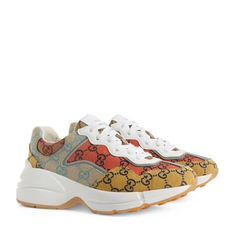 GG Multicolor系列Rhyton女士运动鞋
