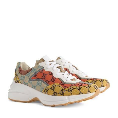 GG Multicolor系列Rhyton男士运动鞋