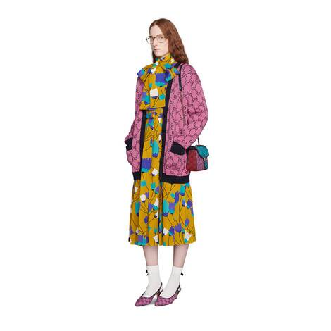 GG Multicolor系列棉毛混纺开衫
