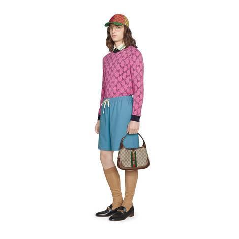 GG Multicolor系列棉毛混纺毛衣