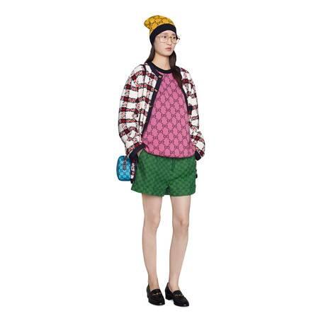 GG Multicolor系列短袖毛衣